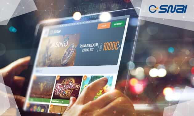 app smartphone tablet snai casino mobile