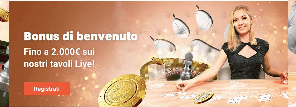 leovegas casino live bonus