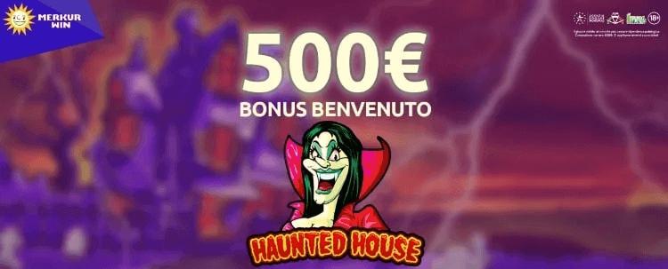 merkurwin casino bonus benvenuto