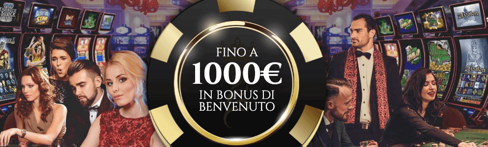 Voglia di Vincere Casino welcome bonus