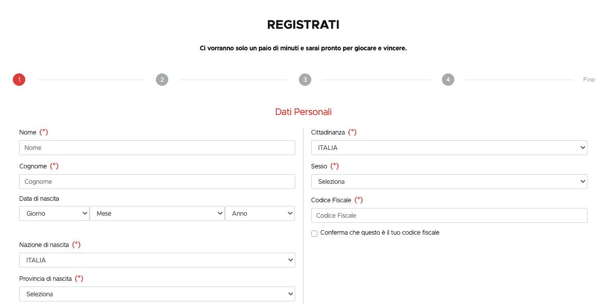 Betclic registrati