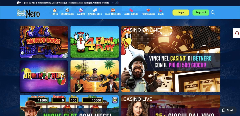 BetNero Casino slot
