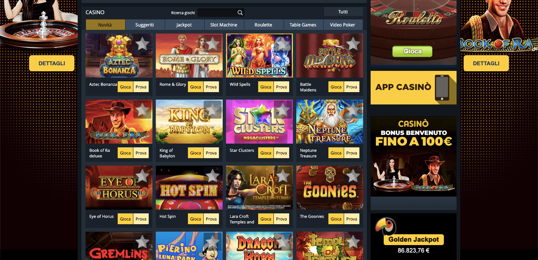 GoldBet Casino Slot