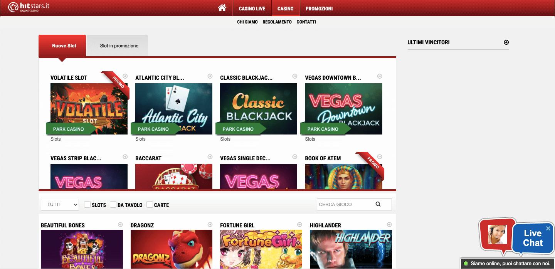 Hitstars Casino Slot