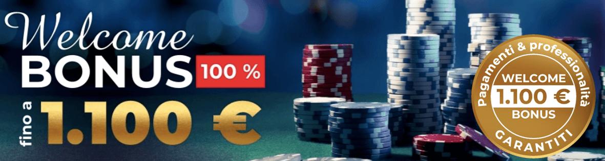 Hitstars Casino bonus benvenuto