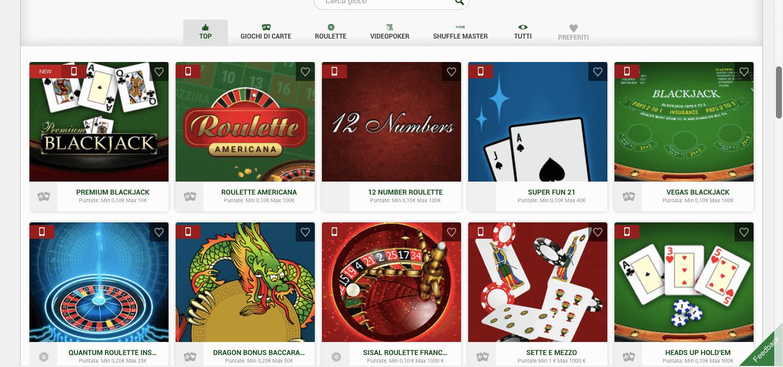 Sisal casino slot