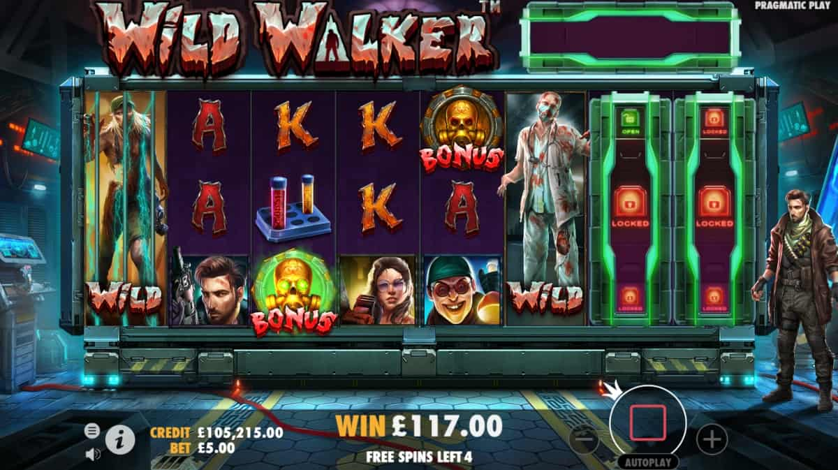 Wild Walkers Slot bonus