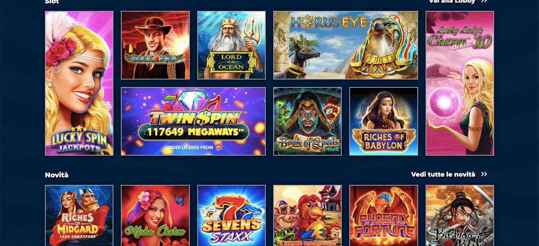 AdmiralYES Casino Slot