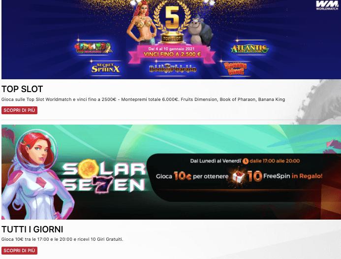 AllinBet Casino Bonus Benvenuto