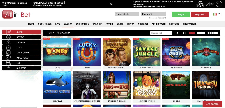 AllinBet Casino Slot