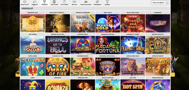 DomusBet Casino Slot