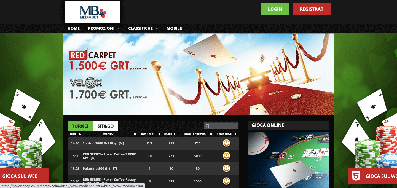 Mediabet Poker