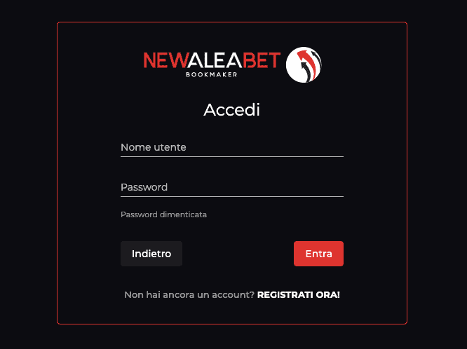 Newaleabet Casinò registrati