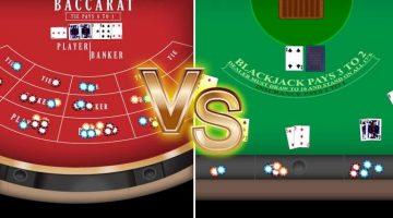 baccarat e blackjack un confronto